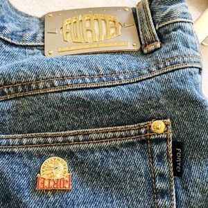 Vintage Jeans - Vintage high waisted mom jeans with glam vibe